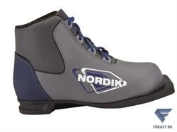 Ботинки лыжные NN75 Spine NORDIK серый - фото 17491