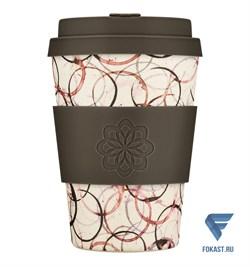Кофейный эко-стакан 350 мл, Тропа. - фото 17632
