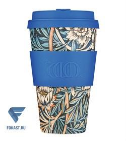 Кофейный эко-стакан 400 мл, Лилу WM - фото 17657