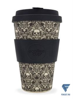 Кофейный эко-стакан 400 мл, Мильперра мута. - фото 17665
