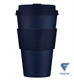 Кофейный эко-стакан 400 мл, Темная энергия. - фото 17681