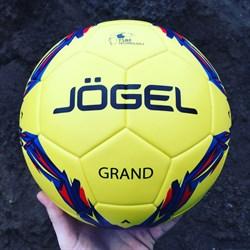 Всепогодный футбольный мяч Jögel  JS-1010 Grand №5, желтый - фото 17682