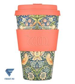 Кофейный эко-стакан 400 мл Воровка WM - фото 17683