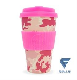 Кофейный эко-стакан 400 мл, Мисс Василла. - фото 17687