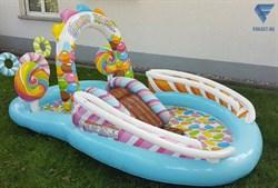 Игровой центр-бассейн Candy Zone 57149 (295х191х130см) - фото 17700