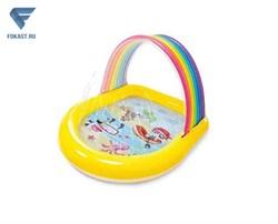 Надувной бассейн цвета радуги, intex 57156. - фото 17838