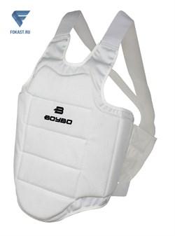 Защита корпуса для карате, белая, boybo. - фото 17840