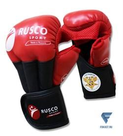 Перчатки для рукопашного боя PRO, к/з, красный - фото 17909