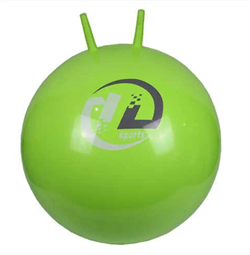 Мяч-попрыгун гимнастический c ручками d-51см ВВ-004GR-51 - фото 18017