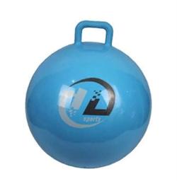 Мяч прыгун с ручкой d55 см GB04 - фото 18018