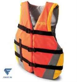 Спасательный жилет Intex 69681 взрослый 76-132см - фото 18026