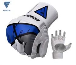 Перчатки для MMA T7 GGR-T7U REX BLUE - фото 18234