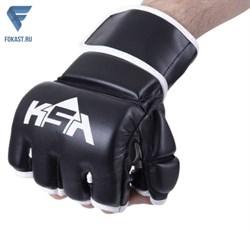 Перчатки для MMA Wasp Black - фото 18237