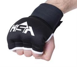 Внутренние перчатки для бокса Bull Gel Black, L - фото 18347