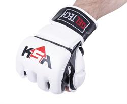 Перчатки для MMA Lion Gel White - фото 18356