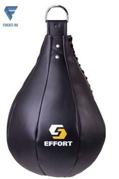 Груша боксерская Е521, кожзам, 5 кг, черный - фото 18471