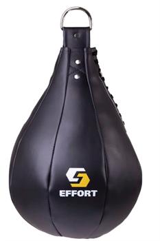 Груша боксерская E523, кожзам, 16 кг, черный - фото 18472