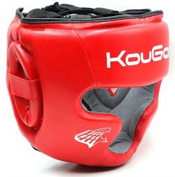 Шлем тренировочный KouGar KO220, р.L, красный - фото 18497