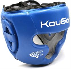 Шлем тренировочный KouGar KO230, р.M, синий - фото 18499