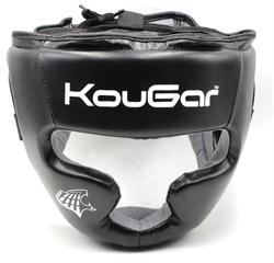 Шлем тренировочный KouGar KO250, р.M, черный - фото 18507