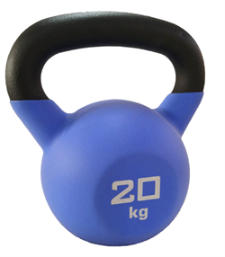 Гиря чугунная обрезиненная SportElite 20 кг - фото 18616