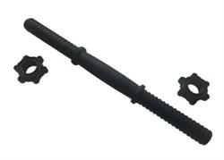 Гриф гантельный пластиковый d-25.4мм, 36см (R0237) - фото 18644