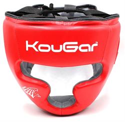 Шлем тренировочный KouGar KO210, р.M, красный - фото 18682