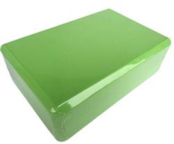 Блок для занятий йогой Lite Weights 5497LW, салатовый - фото 18814