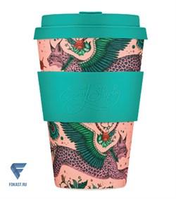 Кофейный эко-стакан 400мл Рысь Ecoffee Cup - фото 20069