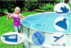 Набор для очистки бассейна DELUXE. Intex 28003 - фото 4529
