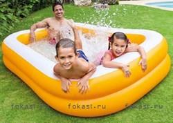 Надувной бассейн мандарин 229х147х46см, от 6 лет. INTEX 57181 - фото 4536