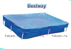 Тент для прямоугольных бассейнов (221х150) Bestway 58103 - фото 4584