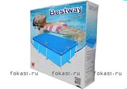 Тент для прямоугольных бассейнов (259х170) BestWay 58105 - фото 4585