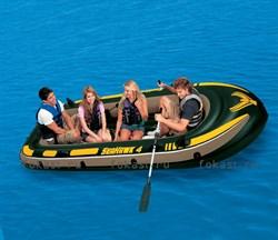 Надувная лодка Seahawk 400 351х145х48 см. INTEX 68351 - фото 4927