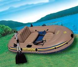 Надувная лодка excursion-3 set (262X175X42) INTEX 68319 - фото 4928