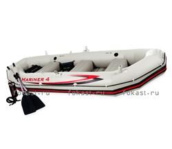 Надувная лодка Mariner-4 SET 328X145X48 INTEX 68376 - фото 4935