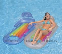 Надувной матрас-кресло king 160х85 см, 2 цвета. INTEX 58802 - фото 5083
