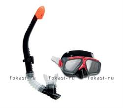 Набор маска с трубкой Surf Rider. INTEX 55949 - фото 5104