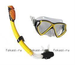 Набор маска с трубкой Aviator Pro. INTEX 55960 - фото 5111
