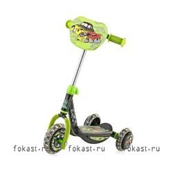 Самокат детский 3-х колесный CMS008А - фото 5141