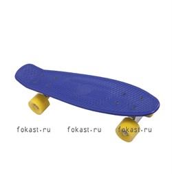 """Скейтборд пластиковый 28""""x7,5"""" PW-515 - фото 5157"""