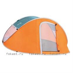 Палатка автомат трехместная nucamp X3 (235x190x100) Водостойкая 2000 ммм.в.с. Bestway 68005 - фото 5177