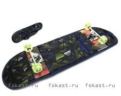 Сумка для скейтборда с принтовым рисунком - фото 5228