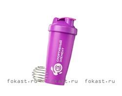 Спортивный шейкер Иолит S01-600, фиолетовый - фото 5368