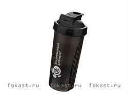 Спортивный шейкер Оникс S01-600, черный - фото 5369