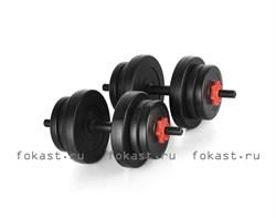 """Комплект гантелей """"Lite Weights"""" 20 кг 2327LW - фото 5446"""