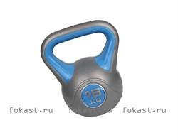 Гиря пластиковая 16кг ZS-16 - фото 6554
