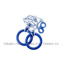 Кольца гимнастические ES-0113 - фото 6633