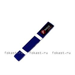 Пояс для кимоно 2,6м (синий) - фото 6694