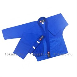 Кимоно дзюдо ES-0498 (синее) - фото 6695
